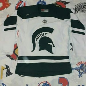 Nike Michigan State Spartans Hockey Jersey MSU